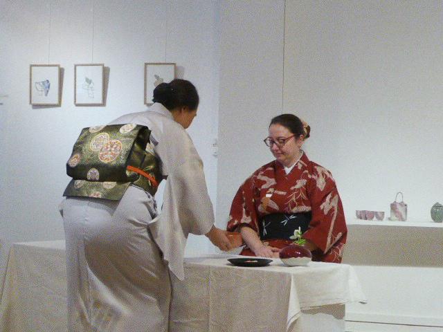 cérémonie du thé La Station Galerie